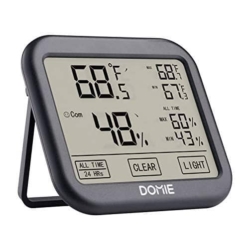 Domie Digital Temperature and Humidity Monitor for $6.99