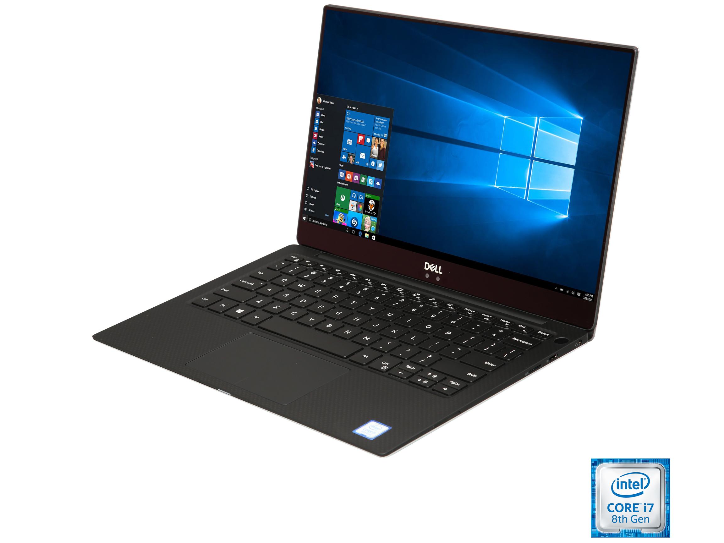 "DELL XPS XPS9370-7002SLV Intel Core i7 8th Gen 8550U 8GB RAM 256GB SSD 13.3"" Win10 $899.99 + Free Shipping"