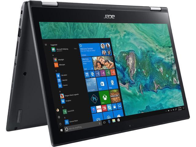 "Acer Spin 3 Intel Core i5 8th Gen 8250U 8GB RAM 256GB SSD 14"" Touchscreen Win10 $489.99 + $25 Newegg Gift Card + Free Shipping"