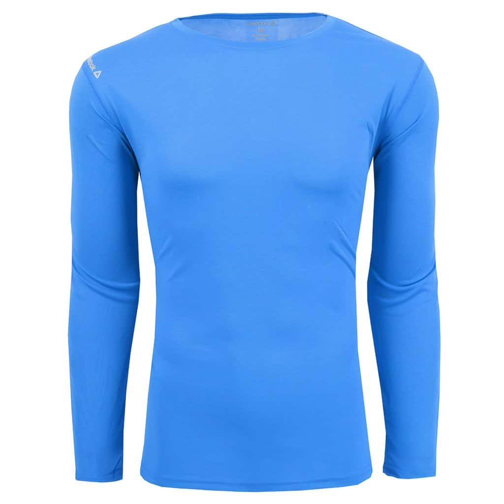 Reebok Men's AMP L/S Performance T-Shirt for $9.99 + Free Shipping