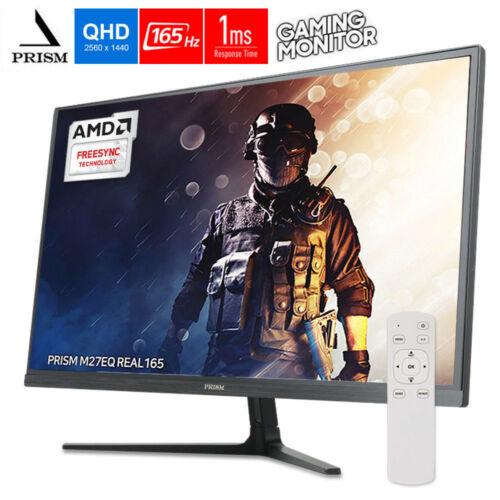 "PRISM M27EQ 27"" 2560x1440 QHD 165Hz 1ms FreeSync Gaming Monitor for $199.00 + FS $199.99"