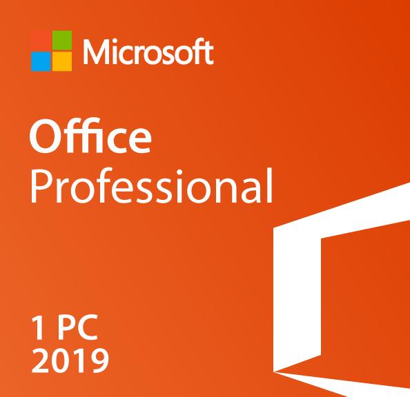 Microsoft Office Professional 2019 License - $269.99 - Digital Download