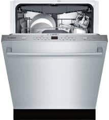 """Goedeker's has Bosch 300 Series 24"""" Stainless Steel Fully Integrated Dishwasher $753.99"""