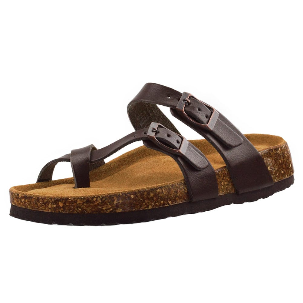 Feetbestie Women's Cork Sandals with Adjustable Toe Ring for $9.99 + Free shipping