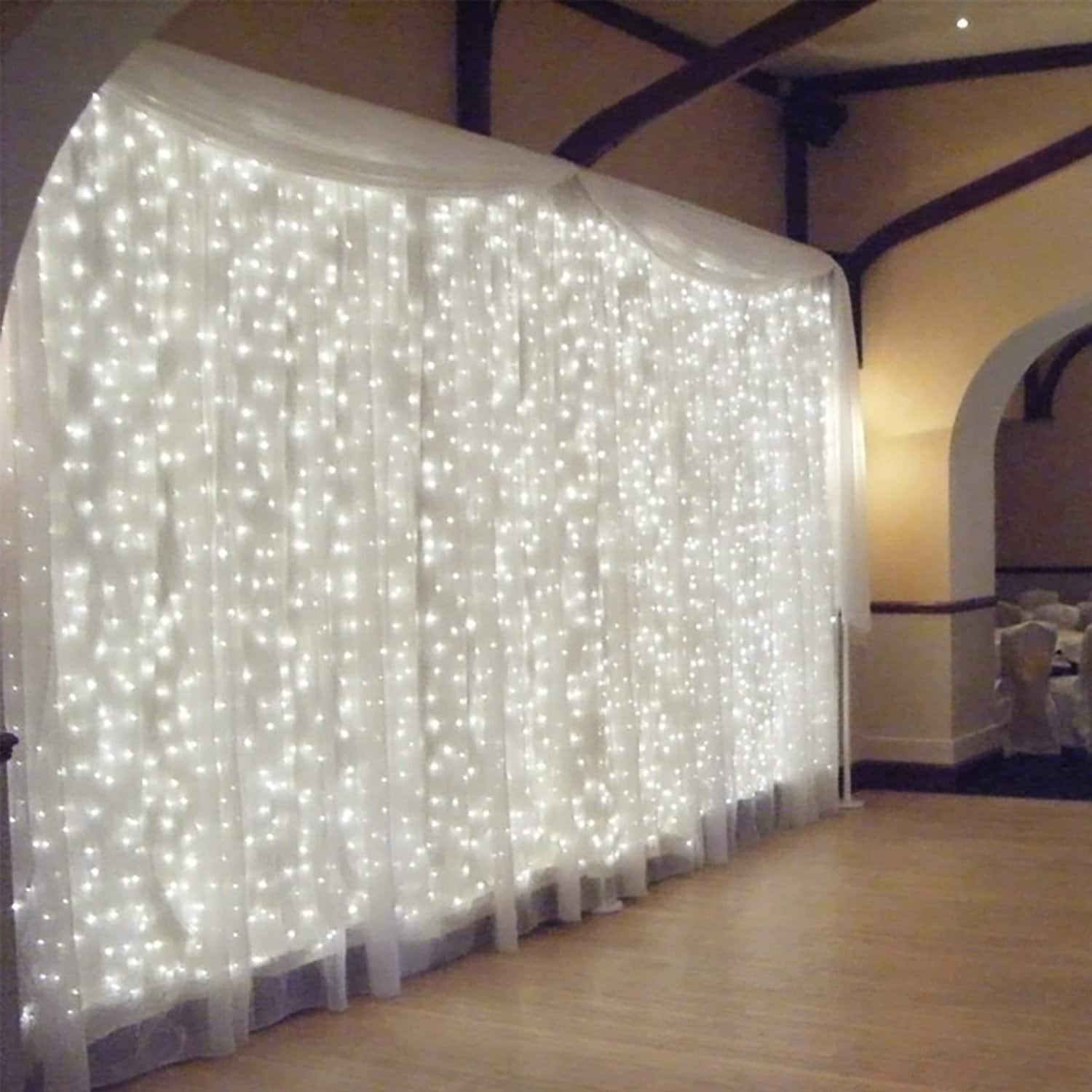 Various Decorative Curtain Lights On Sale from $9.59 + FS