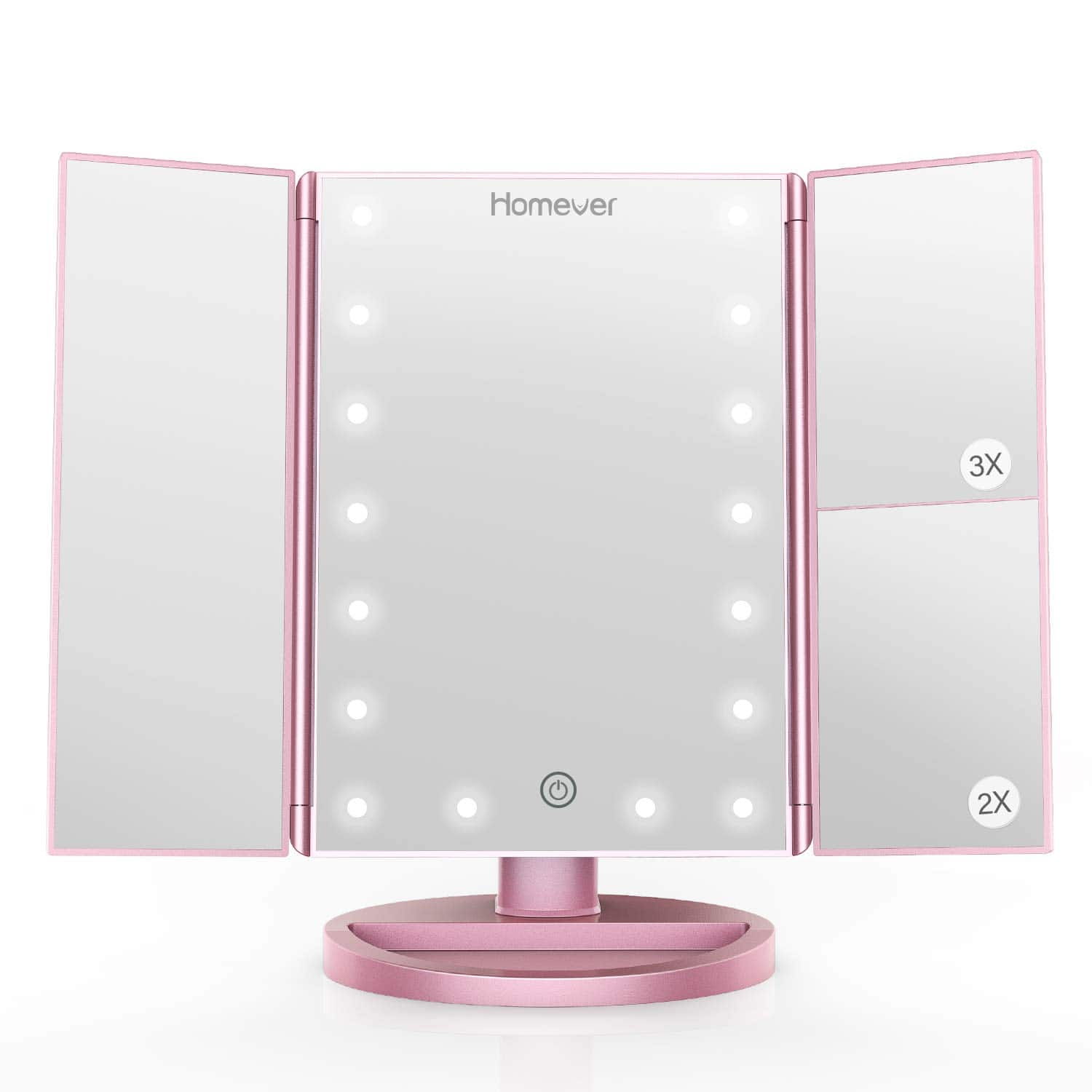 HOMEVER Makeup Mirror 21 LED Lighted with Touch Screen $20.79 + Free Shipping