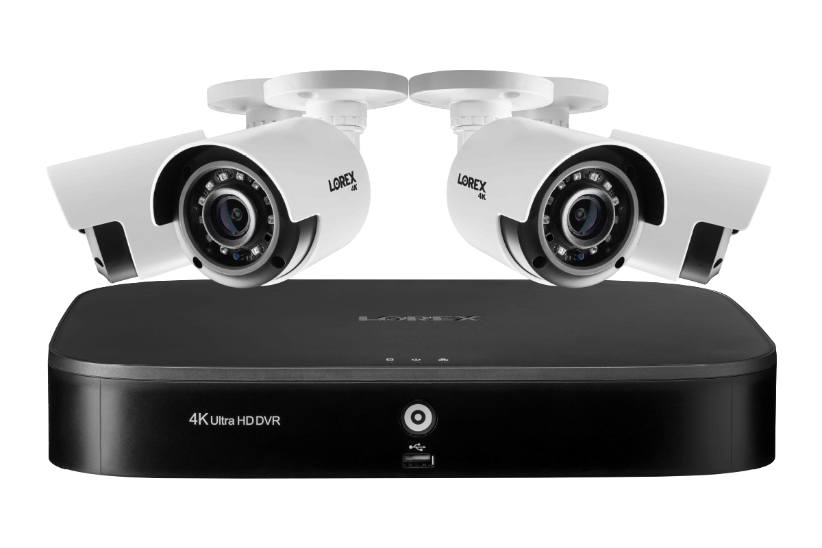 Lorex's Deal of the Day! Get the 4k Ultra HD Security System with 4 cameras for $299.99