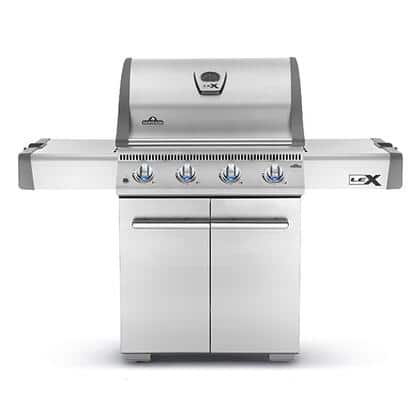 Napoleon LEX485PSS1 Lex Series 62 Inch Freestanding Liquid Propane Grill $769 + Free Shipping
