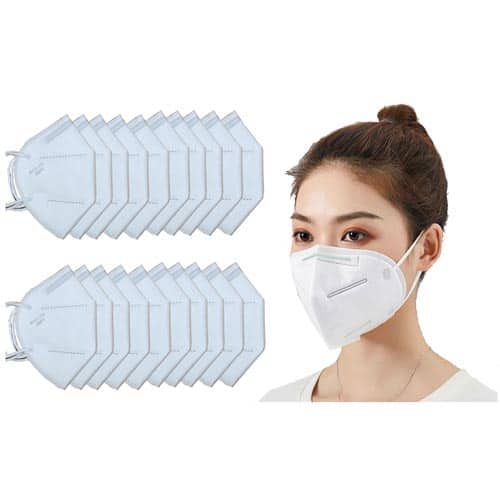 KN95 Protective Standard Face Mask, Disposable Earloop 3-Ply Face Mask $4.49