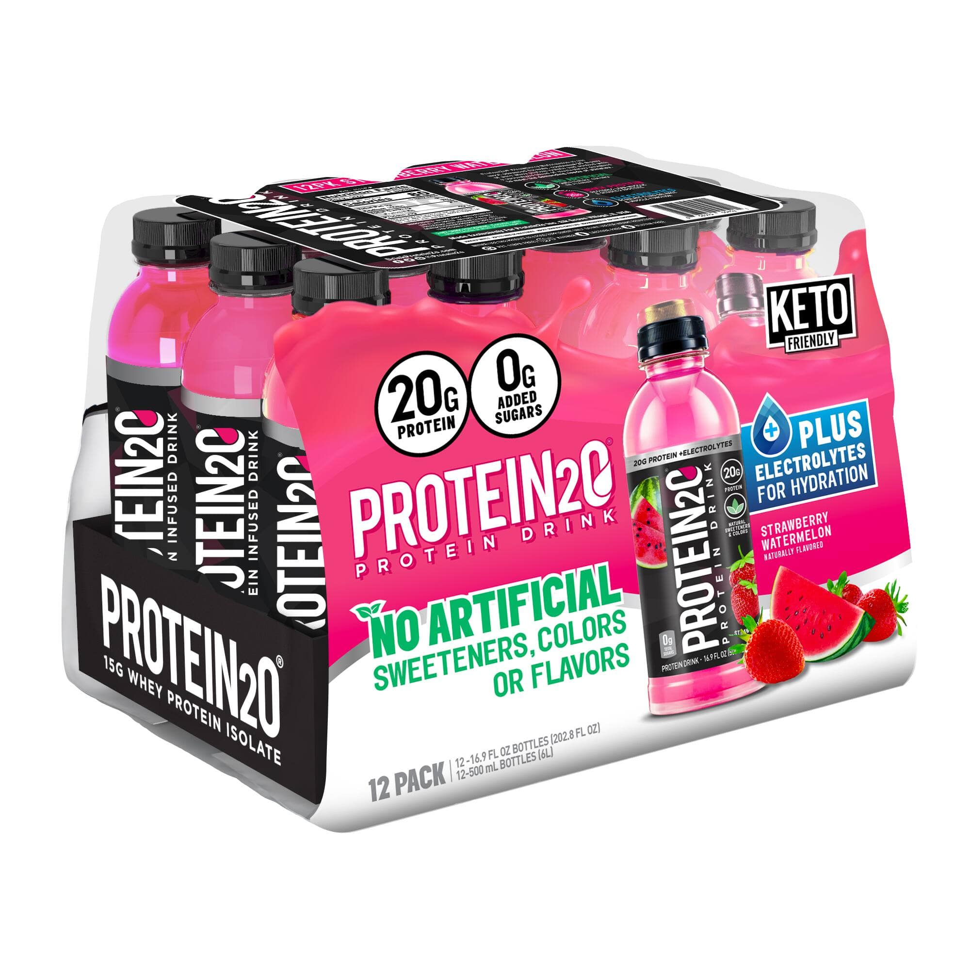 Costco Club Members: 12pk of Protein2o Protein Water (Online: $22.99 / InClub: $14.99) + Free Shipping for Online Orders