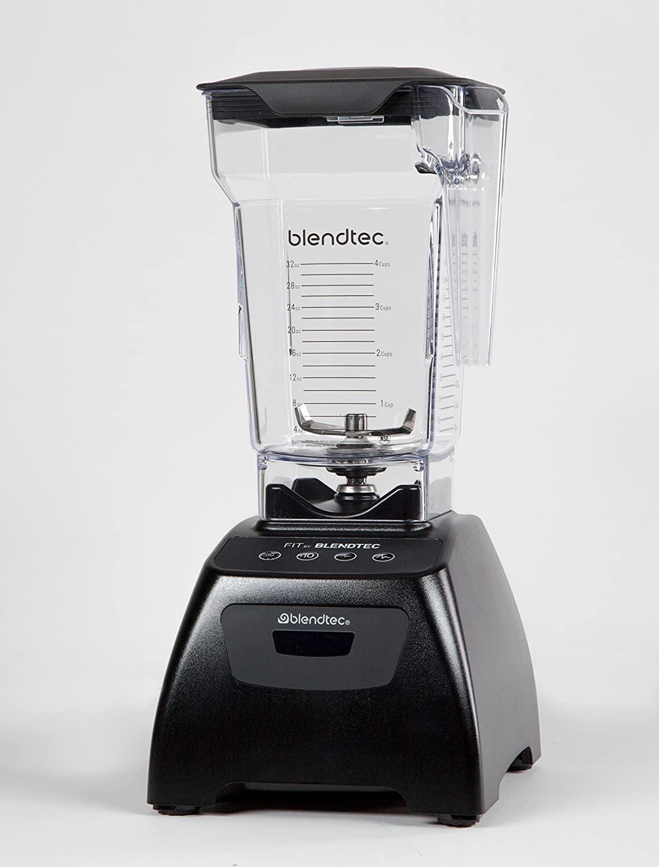 Blendtec - Fit Blender with FourSide Jar (75 oz), 30-sec Pre-programmed cycle, High-Low Pulse, Professional-Grade Power, Black $209.99