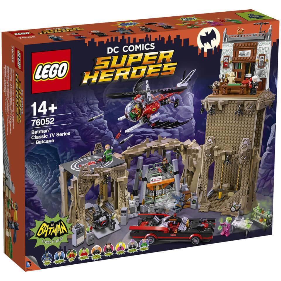 Retired LEGO Super Heroes: Batman Classic TV Series – Batcave Building Set (76052) $279.99 with free shipping - code: BATMAN