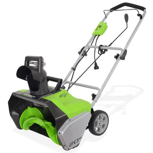 Amazonwarehousedeals -GreenWorks 2600502 13 Amp 20-Inch Corded Snow Thrower $46.02 and more FS
