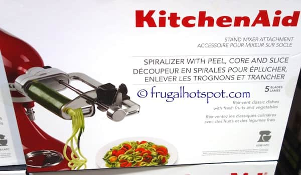 Costco Kitchenaid Spiralizer Attachment 29 97 Ymmv Davie