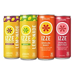 IZZE Sparkling Juice, Mango Variety Pack, 8.4 Fl Oz (24 Count) $10.14
