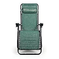Amazon Deal: Zero Gravity Recliner $29 Amazon (Green and Tan)