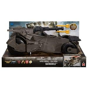 DC Justice League Cannon Blast Batmobile Vehicle [Add-on] $7.44 (72% off)