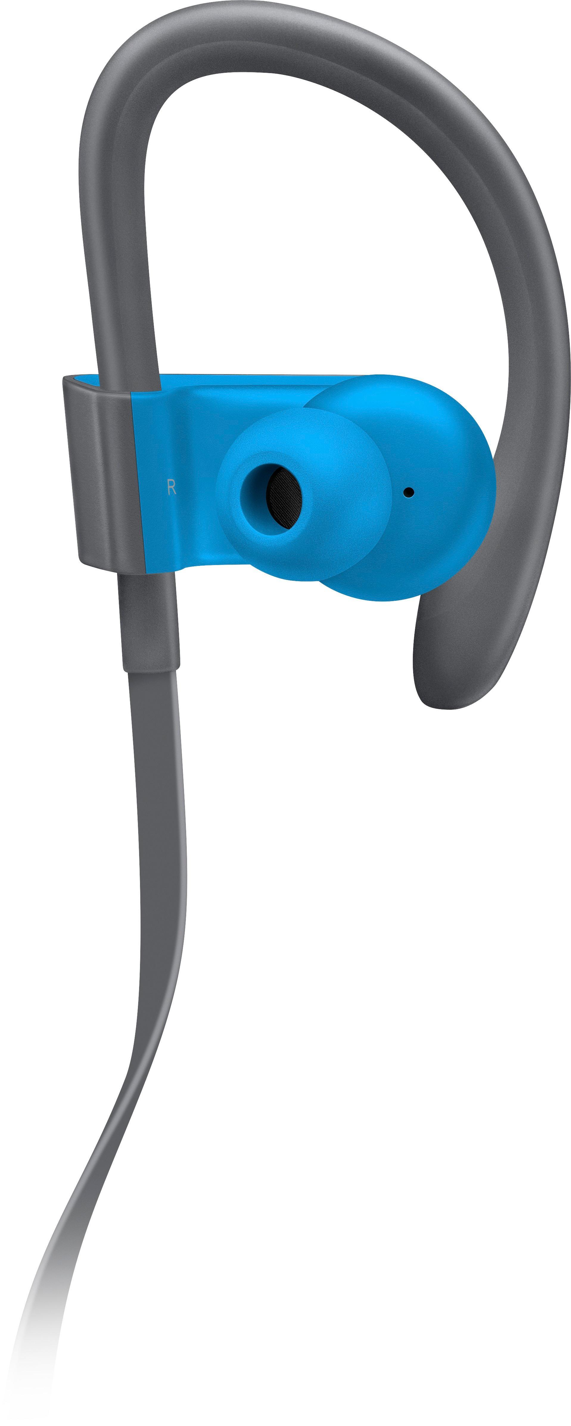 Beats by Dr. Dre - Geek Squad Certified Refurbished Powerbeats³ Wireless - Flash Blue $61.99