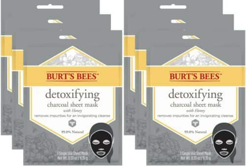 Burt's Bees Detox mask and more (limited supply) upto 50% off $13