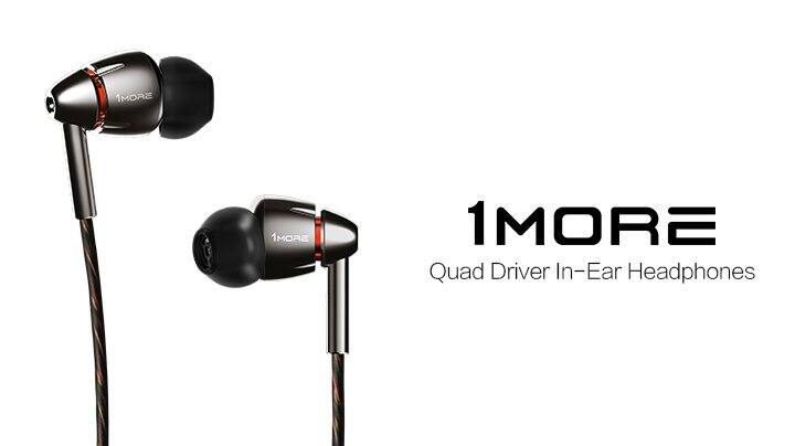 1MORE Quad Driver In-Ear Headphones (Earphones/Earbuds) with Apple iOS and Android Compatible Microphone and Remote (Titanium) - $160 Amazon