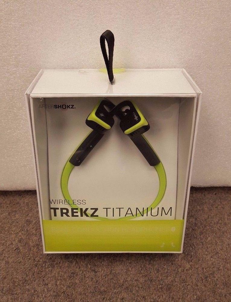 AfterShokz Trekz Titanium Ivy Green Ebay $89.95