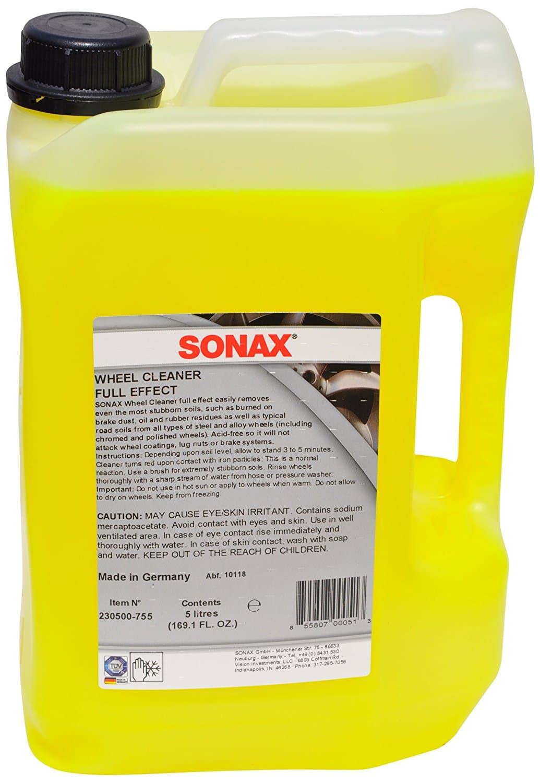 Sonax (230500) Wheel Cleaner 169.1 fl. oz. - $58.02 plus tax w 20% Amazon coupon
