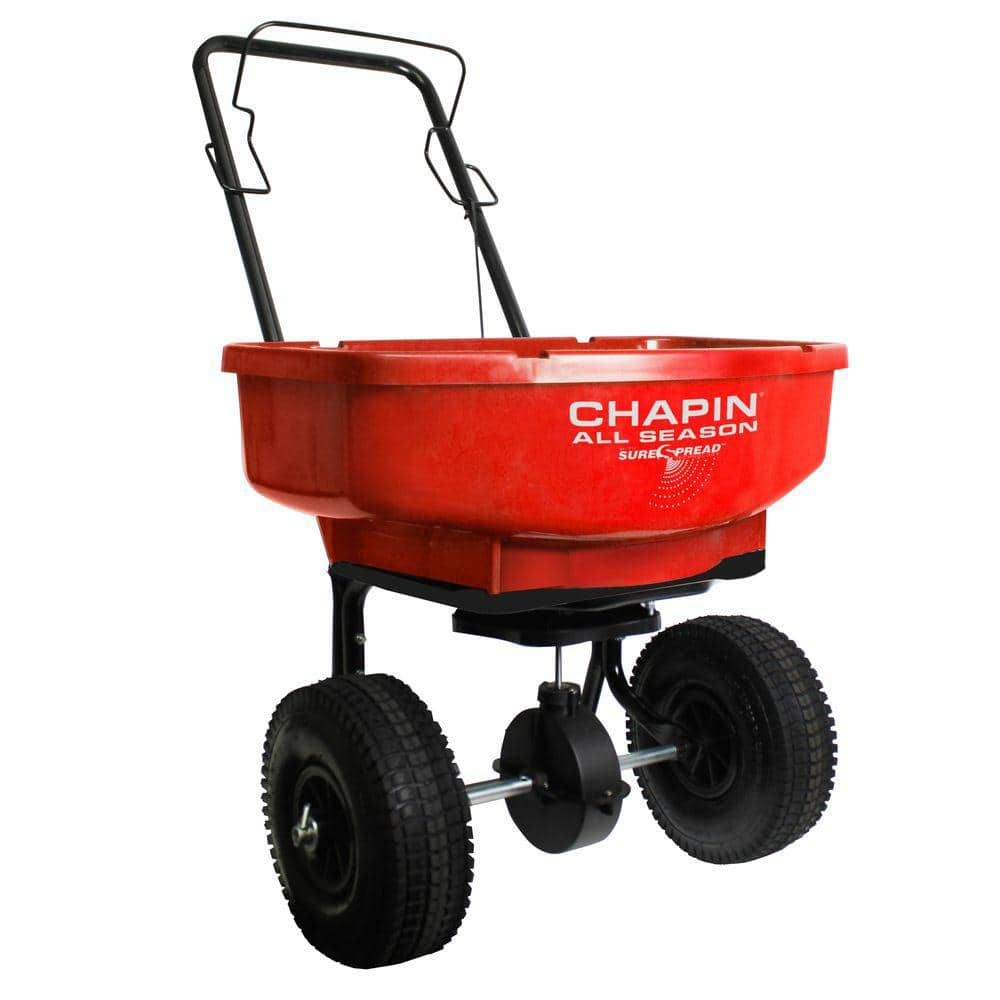 YMMV Chapin 80 lbs. Capacity Assembled Turf Broadcast Spreader $26.2