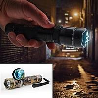 13deals.com Deal: Aluminum Rechargeable Stun Gun LED Flashlight - $13.49 + free shipping