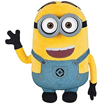 Amazon toys-  Despicable Me Minion Dave Plush with Pop-Out Eyes Toy Figure $5.64