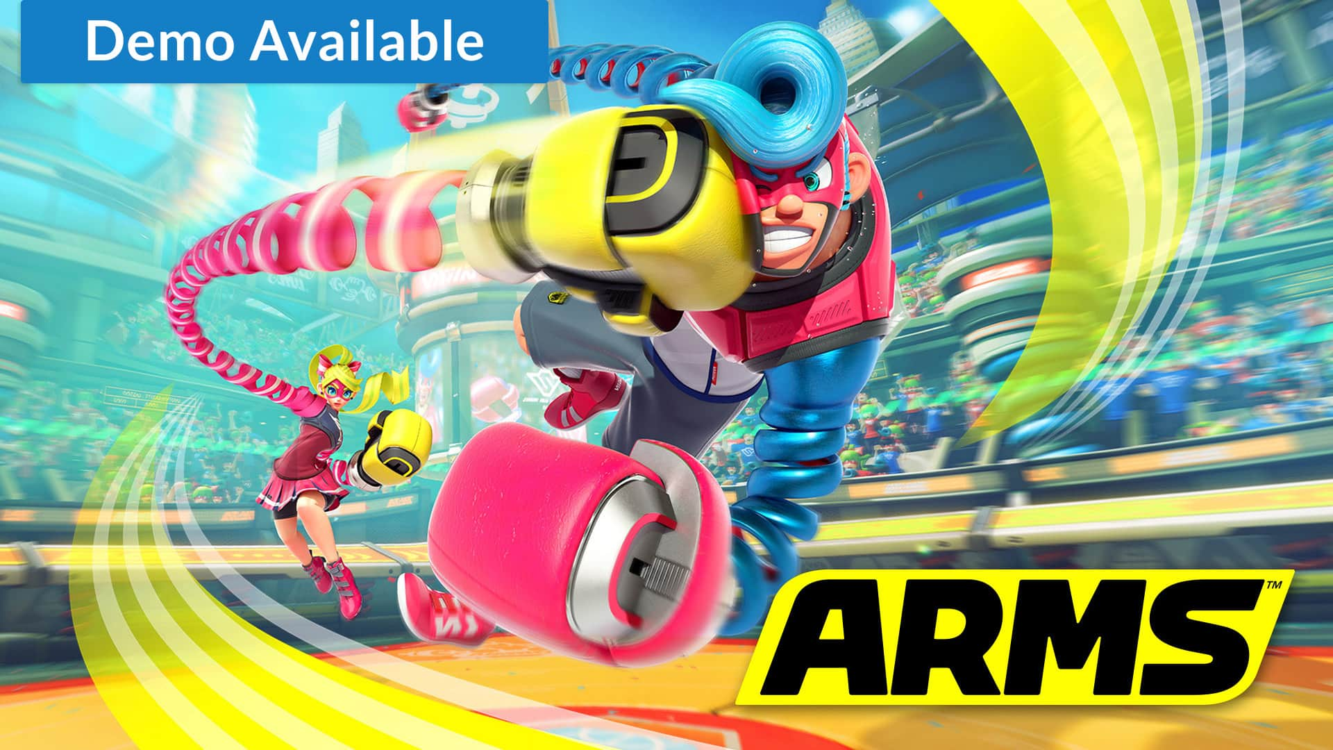 ARMS game trial for Nintendo Switch Online users: Full game FREE until April 6th