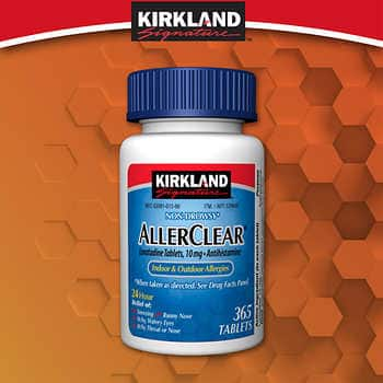 Allerclear on sale again at Costco - $7.99 (free shipping)