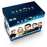 Heroes: The Complete Collection [Blu-ray] Box Set Collection @$49.99 w/ FS