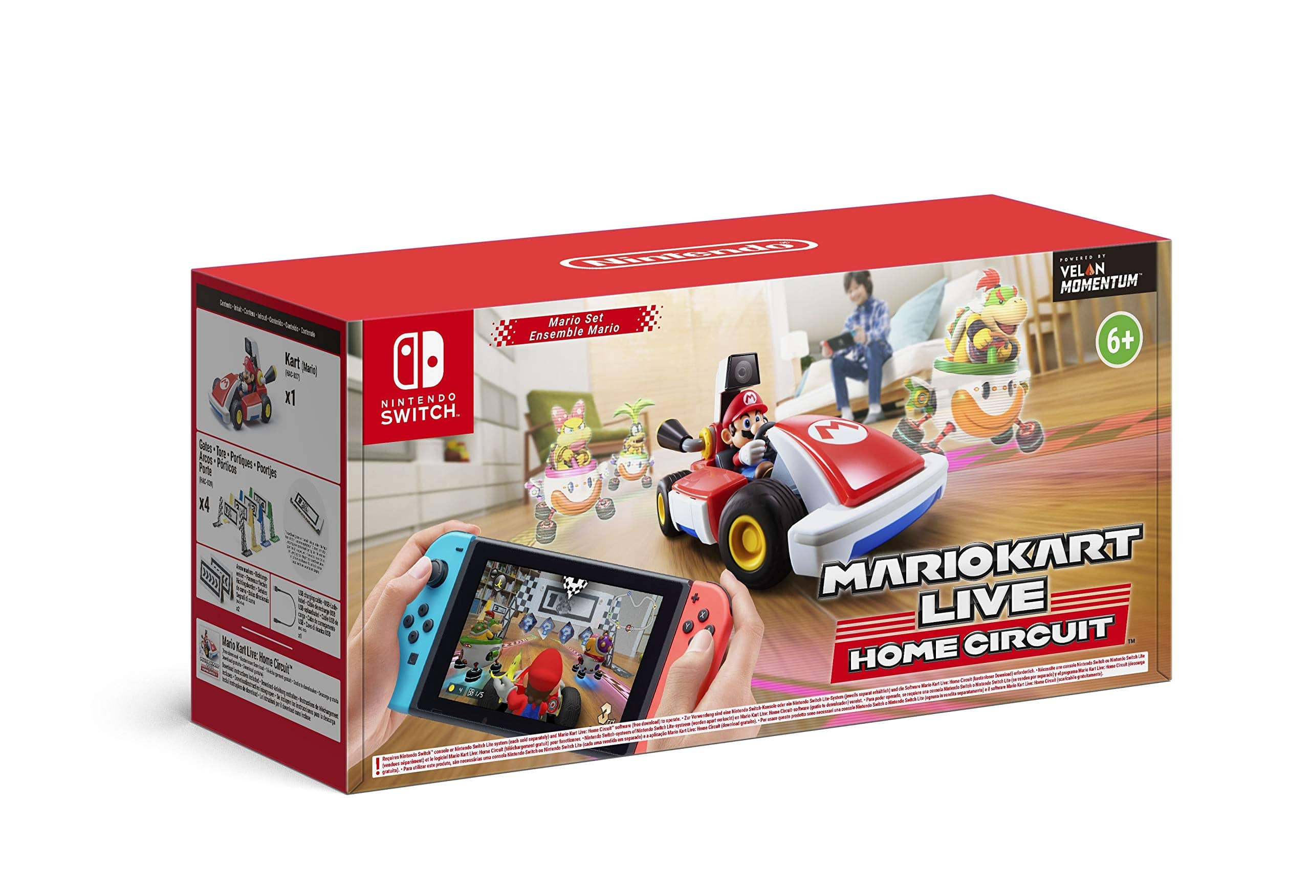 Mario Kart Live: Home Circuit available for preorder at Amazon UK $106.69