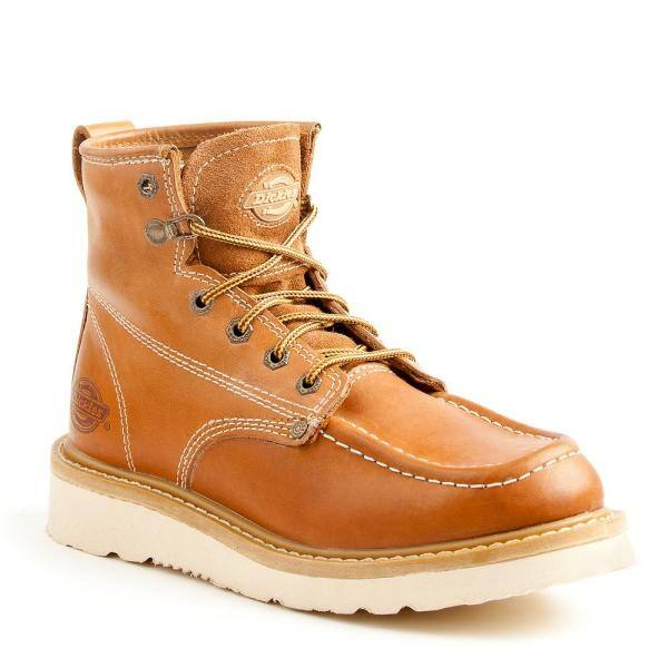 Men's Trader 6'' Work Boots - Steel Toe - TAN Size 10(M) $39.99 + fs