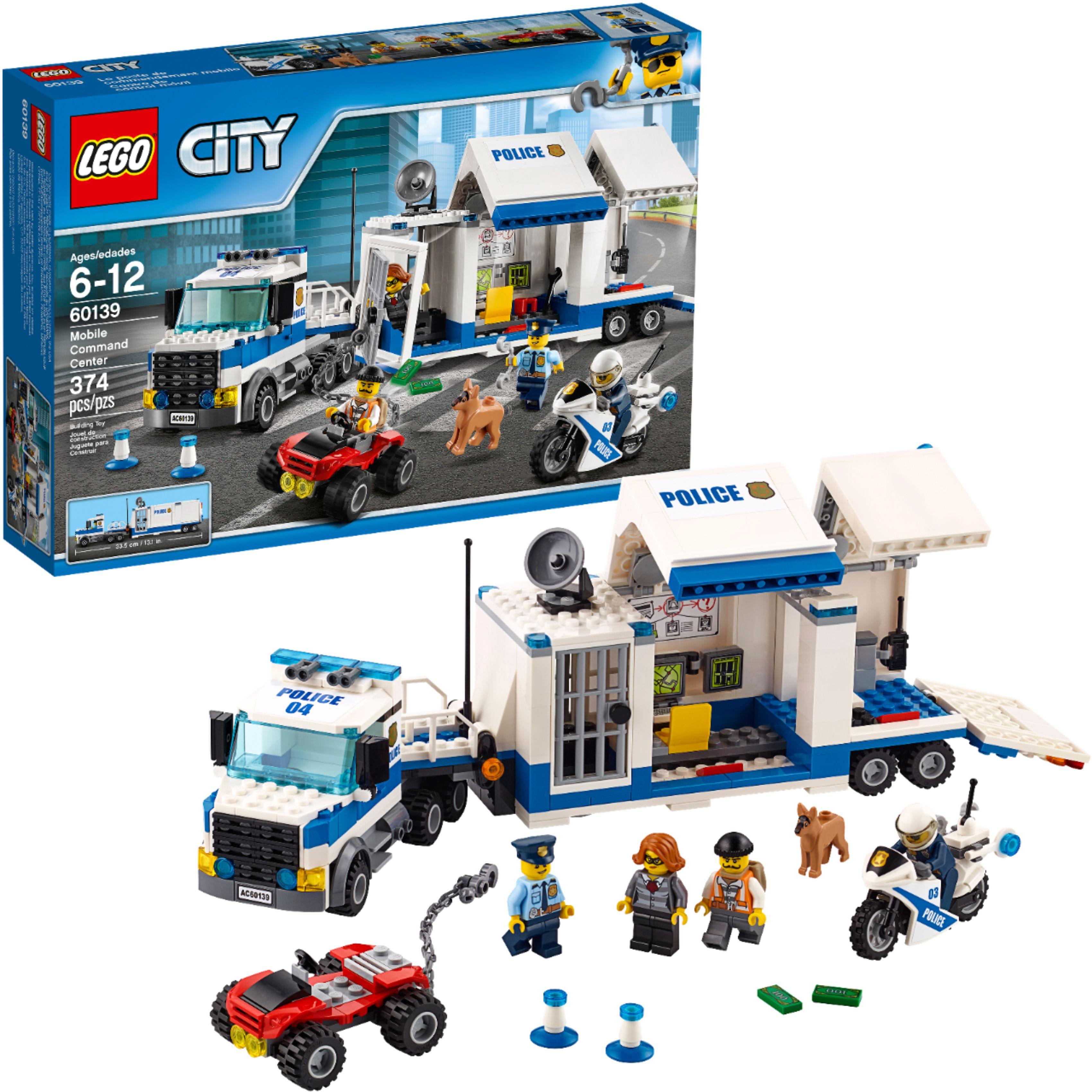 LEGO - City Mobile Command Center 60139 - Multi $28.99 + ship