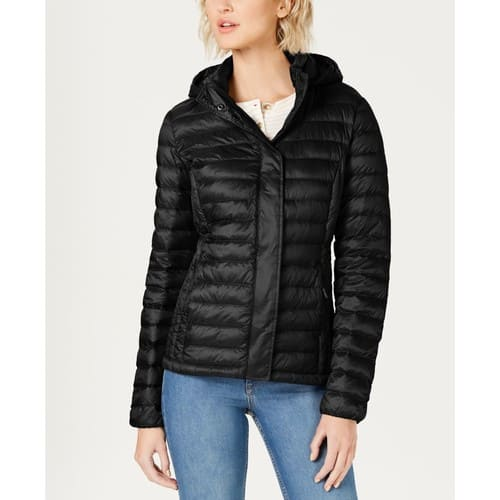 32 Degrees Packable Hooded Down Puffer Coat $49.29