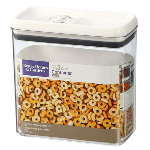 Better Homes & Gardens Flip-Tite Rectangular Container, 11.5 Cups $7.88