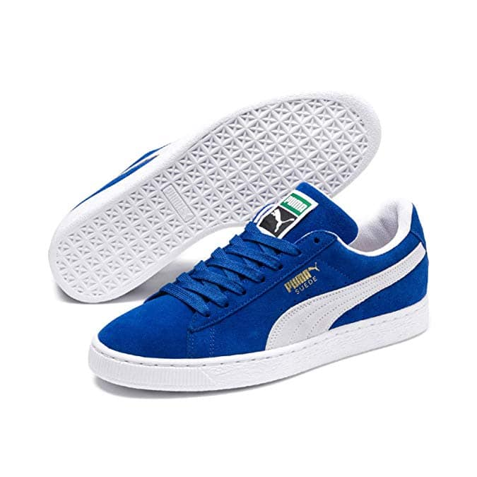 61cd42cb7e5 PUMA Men's Suede Classic Shoe (Blue/White) - Slickdeals.net