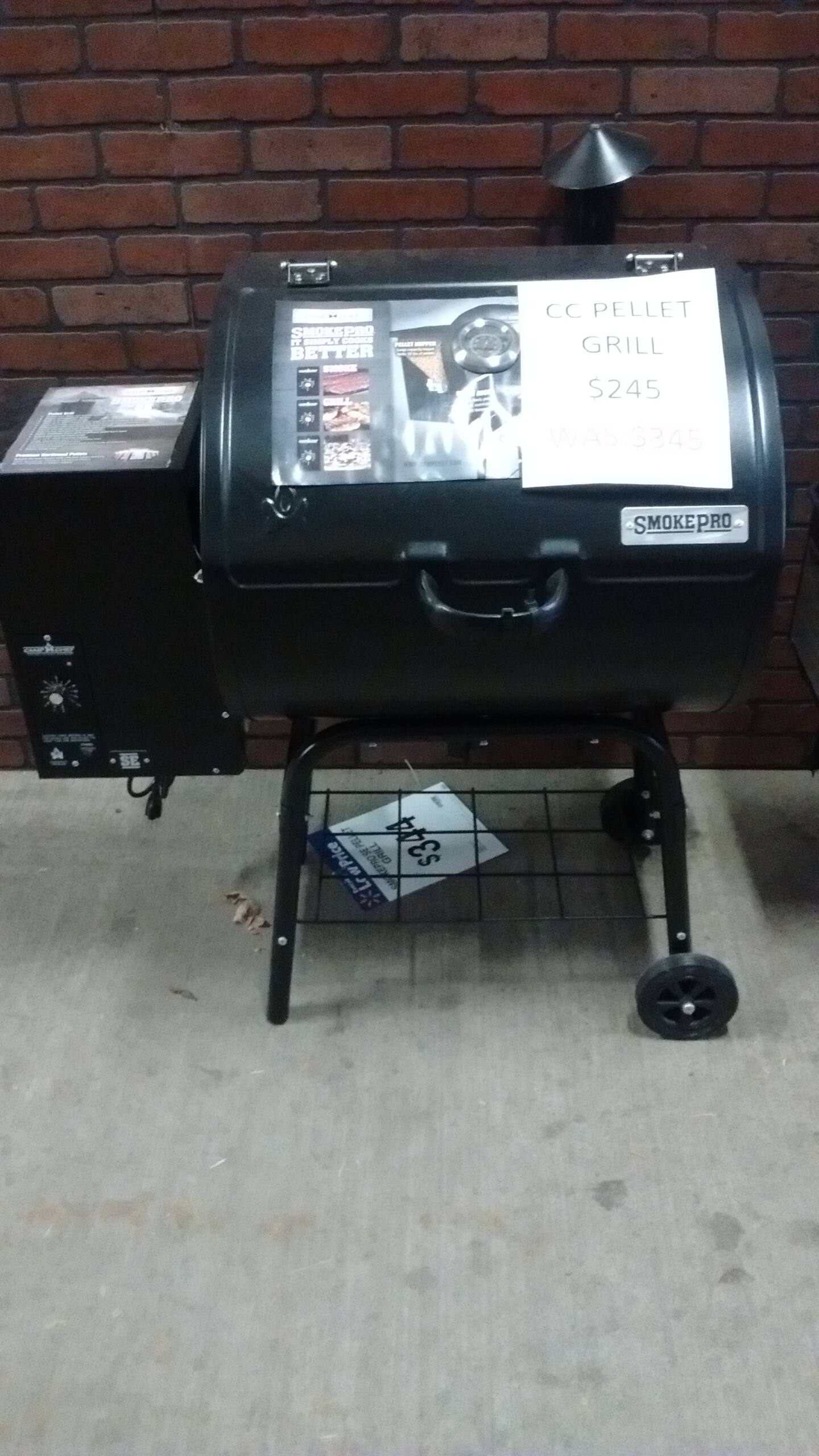 Camp Chef Pro SE grill/smoker ymmv $245
