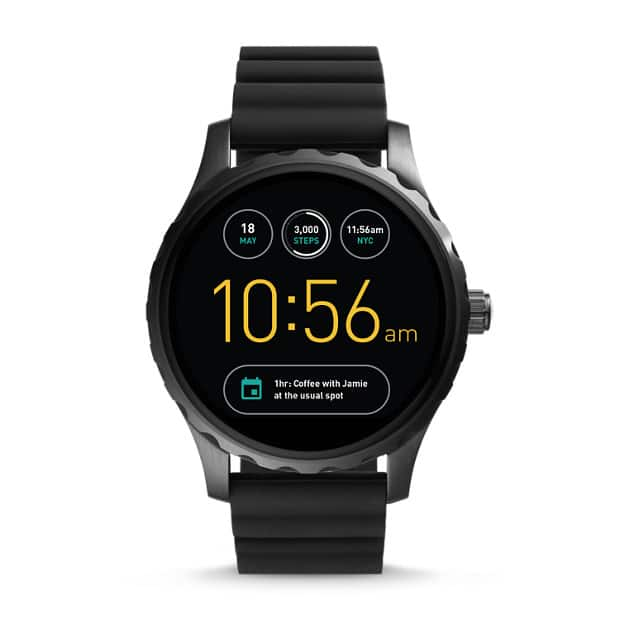 FOSSIL GEN 2 SMARTWATCH - Q WANDER STAINLESS STEEL REFURBISHED + Free Shipping $109