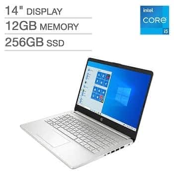 """HP 14"""" Laptop - 11th Gen Intel Core i5-1135G7 $599.99+ $9.99 for S/H"""