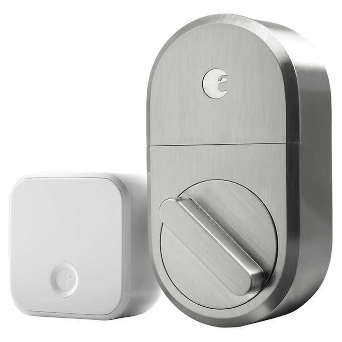 Costco Members only: August Smart Lock + Connect wifi Bridge $140
