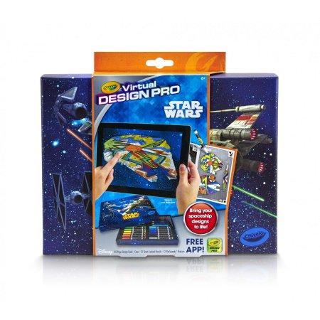 Walmart YMMV: Crayola Color Alive Virtual Design Pro Portfolio Star Wars & Princess as low as $3
