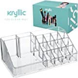 Acrylic Lipstick Makeup Cosmetic Organizer - Great for Organizing your Lipstick Nail Polish Makeup Brushes $8.39