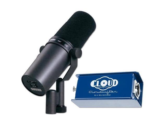 Shure SM7B Dynamic Microphone with CL-1 Mic Activator $384.99