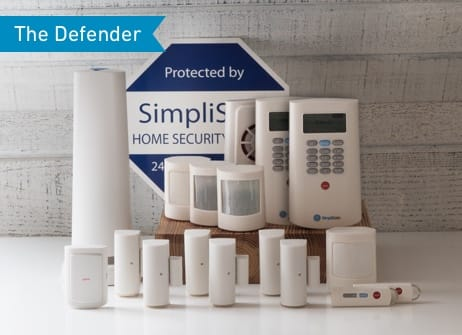 SimpliSafe Home Security System 17 Pieces - $399 ($200 off)