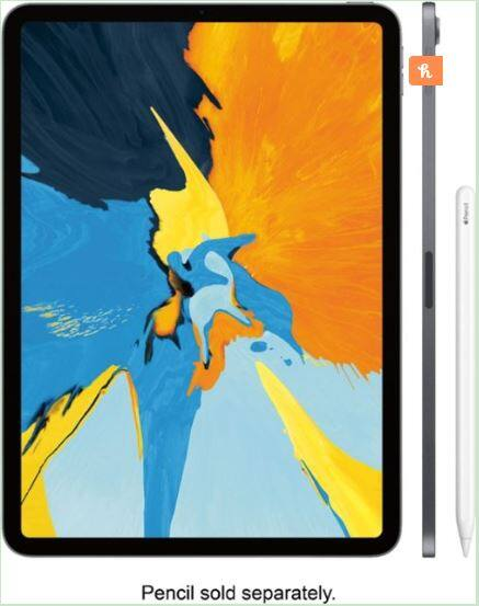 Apple - 11-Inch iPad Pro (Latest Model) with Wi-Fi - 64GB - Space Gray $675