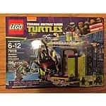 Target YMMV Lego TMNT Mutation Chamber Unleashed Set Clearance $7.48