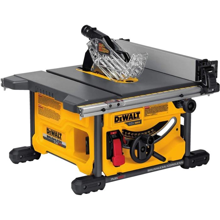 DEWALT Brushless FLEXVOLT 60V MAX* Table Saw (Tool Only) DCS7485B for $274