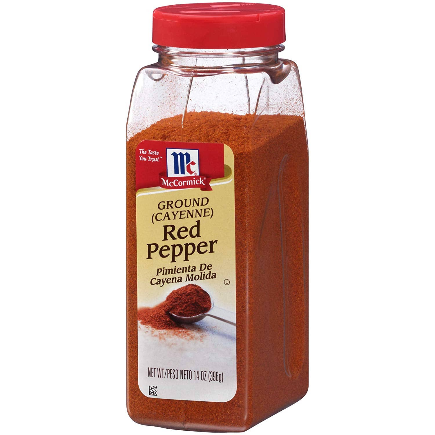 McCormick Cayenne Pepper (Red Pepper Ground), 14 oz  $4.99 or (less with S&S at Amazon  FS)